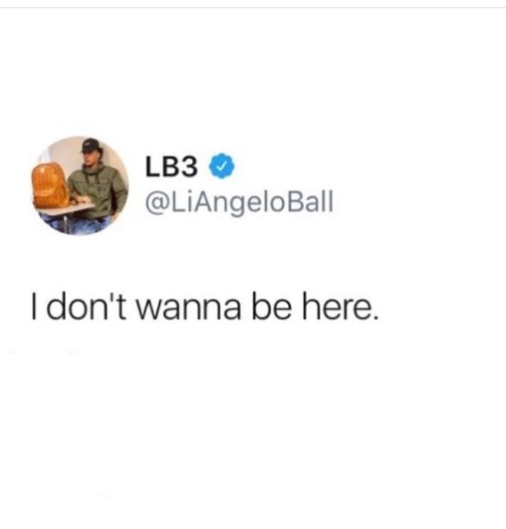 LiAngelo Ball fake tweet